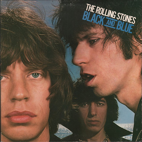 THE ROLLING STONES - BLACK AND BLUE LP