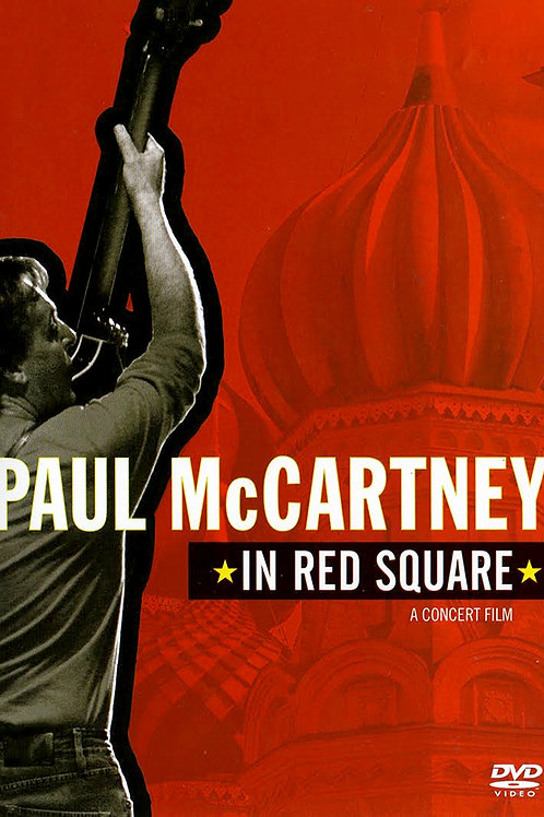 PAUL MCCARTNEY - IN RED SQUARE DVD