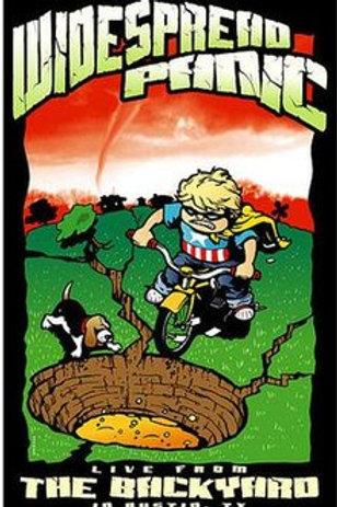 WIDESPREAD PANIC - LIVE FORM THE BACKYARD  DVD