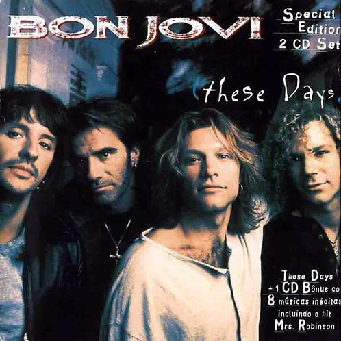 BON JOVI - THESE DAYS DUPLO CD