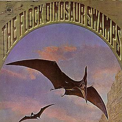 THE FLOCK DINOSSAUR SWAMPS CD