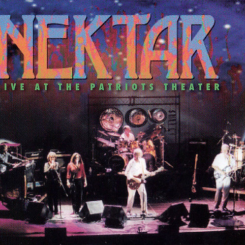 NEKTAR - LIVE AT THE PATRIOTS THEATER CD DUPLO DIGIPACK