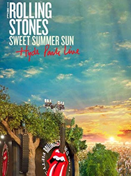 THE ROLLING STONES - SWEET SUMMER SUN HYDE PARK LINE DVD