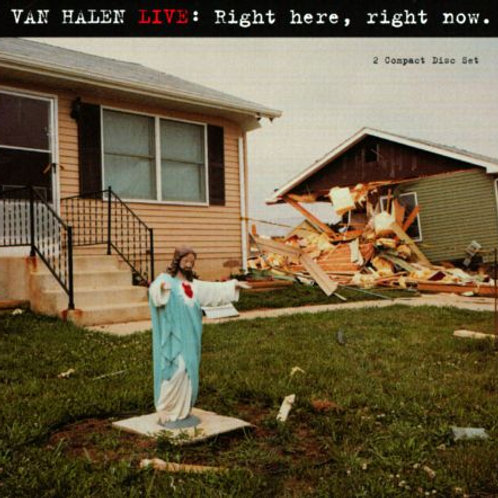 VAN HALEN - LIVE: RIGHT HERE, RIGHT NOW DUPLO CD