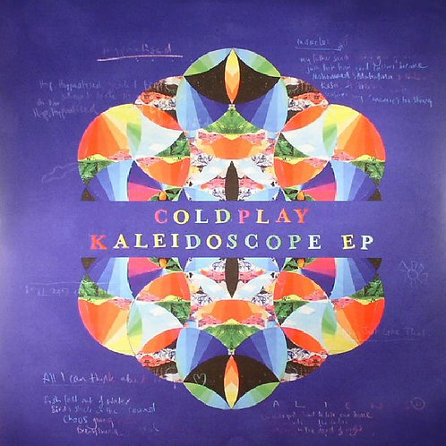 COLDPLAY - KALEIDOSCOPE EP CD