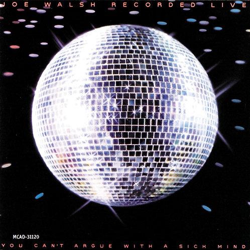 JOE WALSH - RECORDED LIVE LP