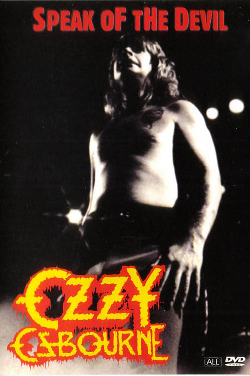 OZZY OSBOURNE - SPEAK OF THE DEVIL DVD
