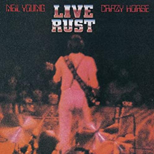 NEIL YOUNG & CRAZY HORSE - LIVE RUST DUPLO LP