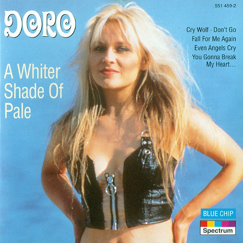 DORO - A WHITER SHADE OF PALE CD