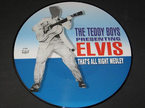 ELVIS - THE TEDDY BOYS PRESENTING LP