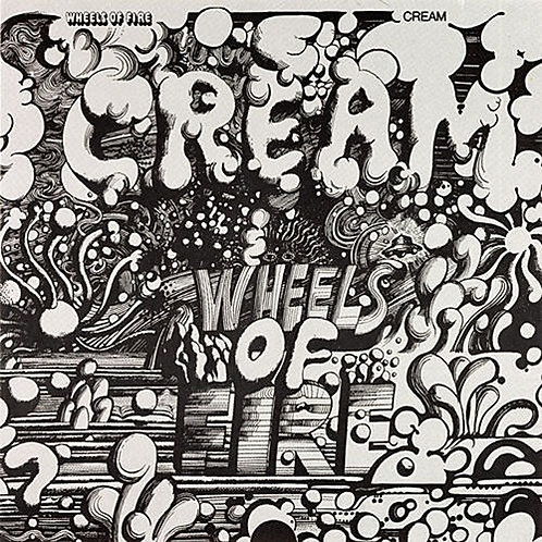 CREAM - WHEELS OF FIRE DUPLO LP