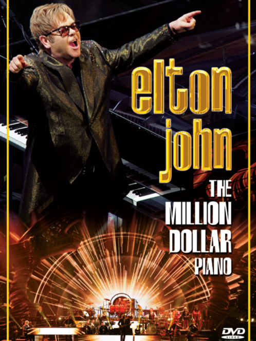 ELTON JOHN - THE MILLION DOLLAR PIANO DVD