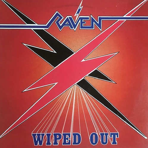 RAVEN - WIPED OUT CD