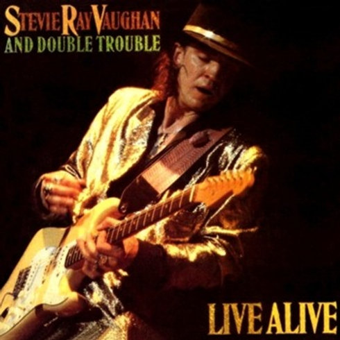 STEVIE RAY VAUGHAN AND DOUBLE TROUBLE - LIVE ALIVE CD