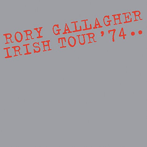 RORY GALLAGHER - IRISH TOUR 74 CD