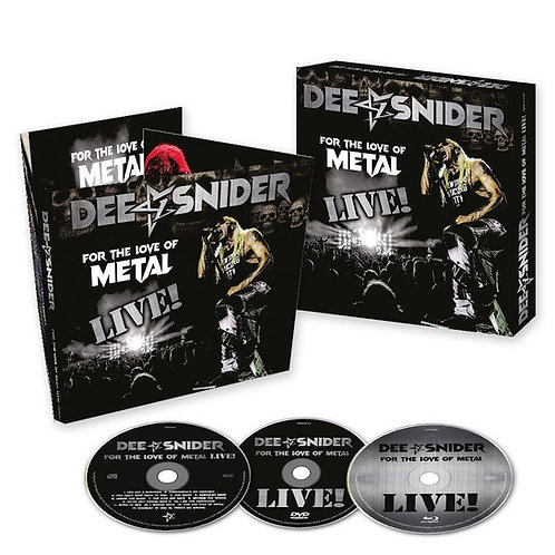 DEE SNIDER - FOR THE LOVE OF METAL LIVE BOX SET