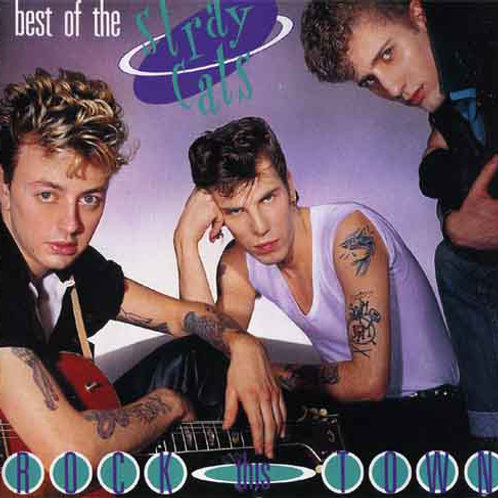BEST OF THE STRAY CATS - ROCK THIS TOWN CD