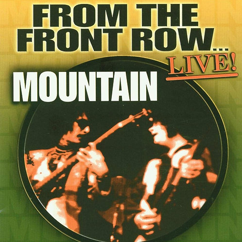 MOUNTAIN - FROM THE FRONT ROW DVD AUDIO