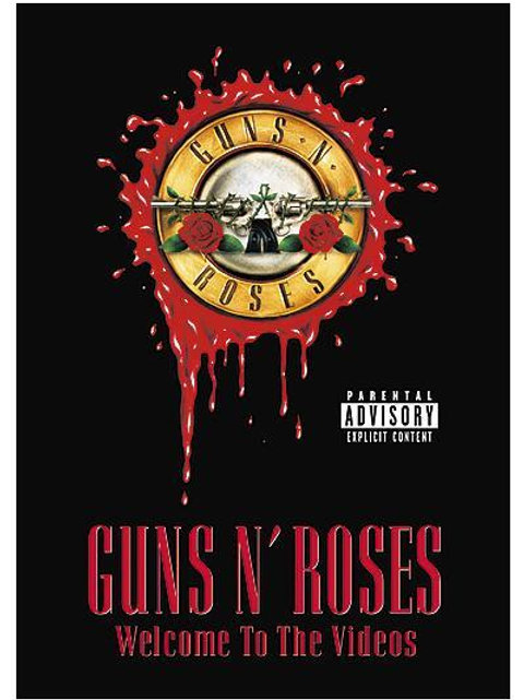 GUNS N´ ROSES WELCOME TO THE VIDEOS DVD