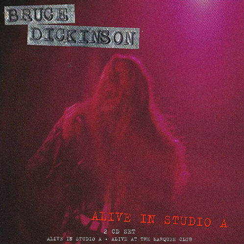 BRUCE DICKINSON - ALIVE IN STUDIO A DUPLO CD
