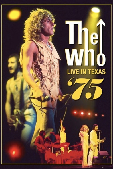 THE WHO - LIVE IN TEXAS 75 DVD