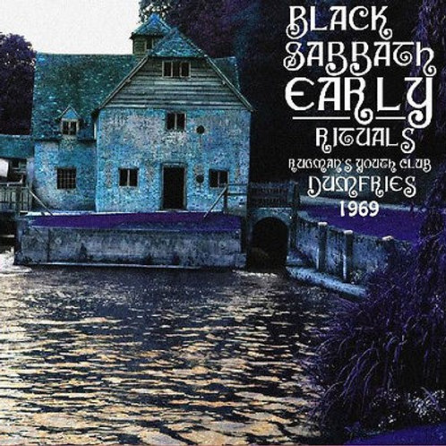 BLACK SABBATH - EARLY RITUAL 1969 CD