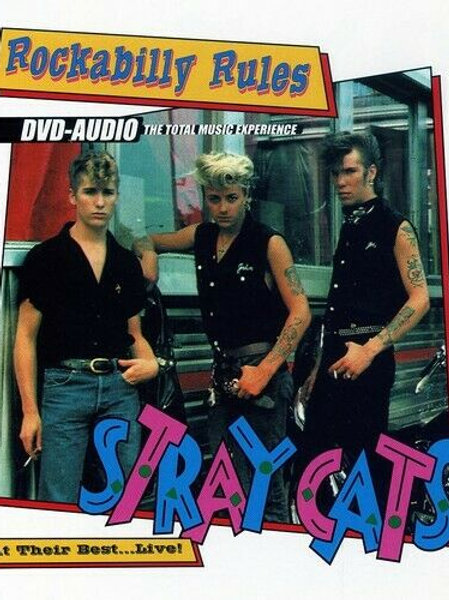 ROCKABILLY RULES - STRAY CATS DVD AUDIO