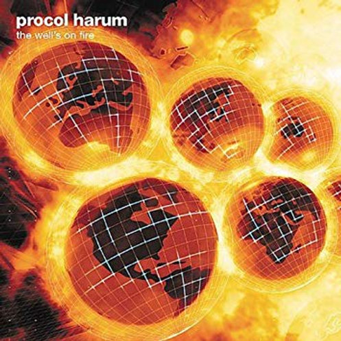 PROCOL HARUM - THE WELL´S ON FIRE CD
