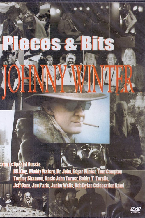 JOHNNY WINTER - PIECES & BITS DVD