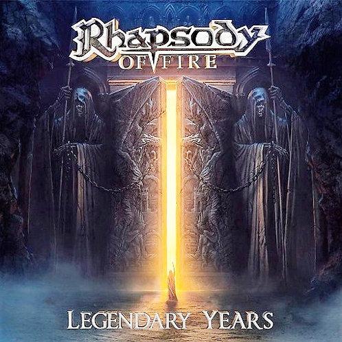 RHAPSODY OF FIRE - LEGENDARY YEARS CD