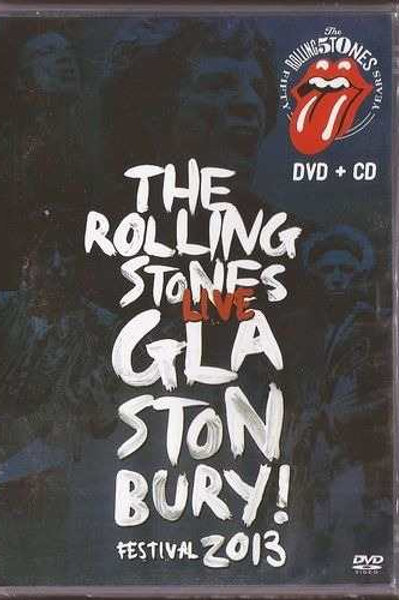 THE ROLLING STONES - LIVE GLASTONBURY FESTIVAL 2013 DVD