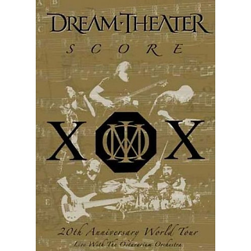 DREAM THEATER - SCORE 20TH ANNIVERSARY  DVD