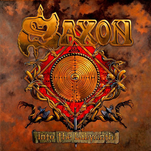 SAXON - INTO THE LABYRINTH CD