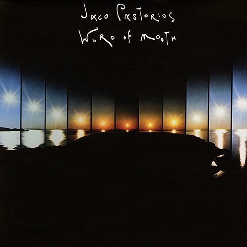 JACO PASTORIUS - WORD OF MOUTH LP