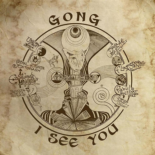 GONG I SEE YOU CD