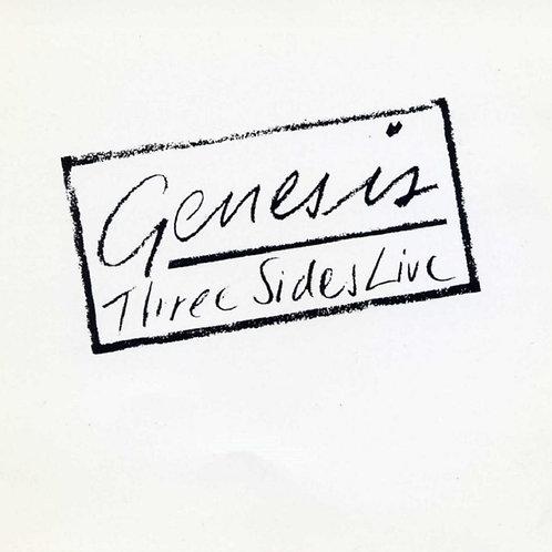 GENESIS - THREE SIDES LIVE LP