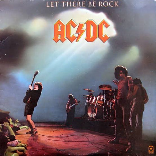 AC/DC - LET THERE BE ROCK CD