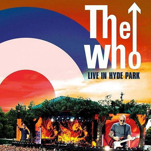 THE WHO - LIVE IN HYDE PARK BLURAY+DUPLO CD