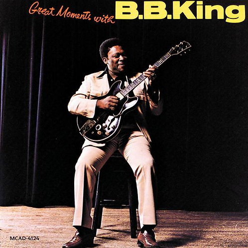 B.B.KING - GREAT MOMENTS WITH DUPLO LP