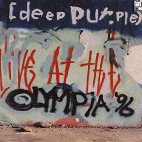 DEEP PURPLE - LIVE AT THE OLYMPIA 96 CD