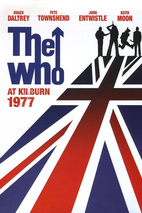 THE WHO - AT KILBURN 1977 BLU-RAY