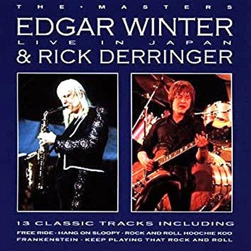 EDGAR WINTER & RICK DERRINGER - THE MASTERS LIVE IN JAPAN CD