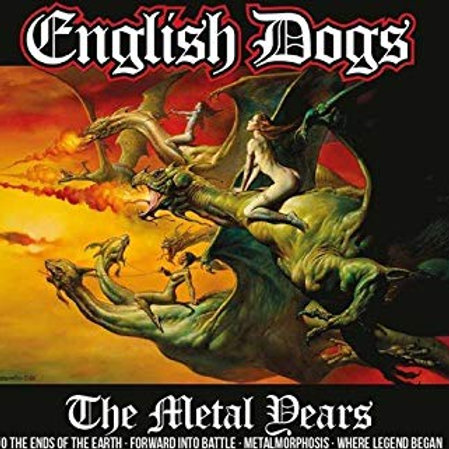 ENGLISH DOGS - THE METAL DEARS CD