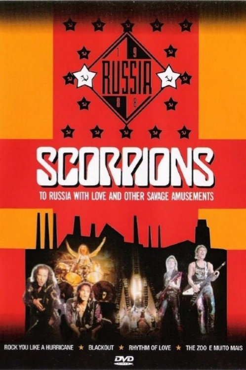 SCORPIONS - RUSSIA WITH LOVE AND OTHER SAVAGE AMUSEMENTS DVD