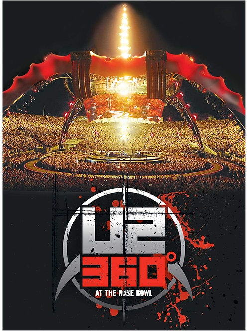 U2 - 360* AT THE ROSE BOWL BLU-RAY