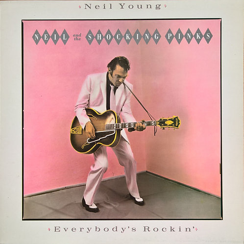 NEIL YOUNG - EVERYBODY´S ROCKIN LP