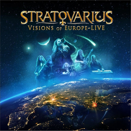 STRATOVARIUS - VISIONS OF EUROPE-LIVE CD