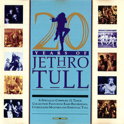 JETHRO TULL - 20 YEARS OF JETHRO TULL DUPLO LP