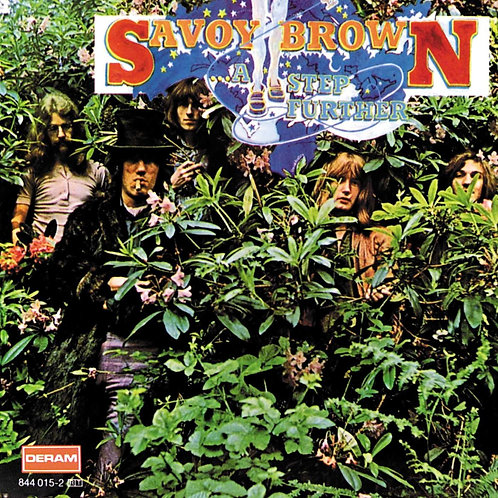 SAVOY BROWN - A STEP FURTHER CD
