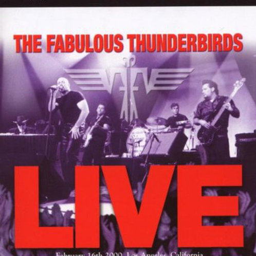THE FABULOUS THUNDERBIRDS LIVE DVD AUDIO